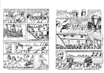 """30.10.2019 – Überarbeitung  des Storyboards für den Abschluß der """"Berber"""" gestartet."""