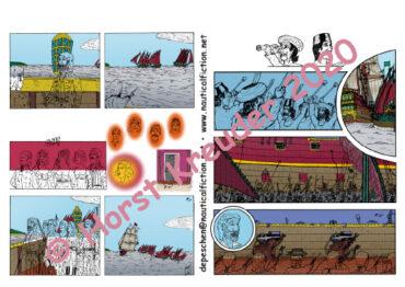 01.04.2020 Erste Runde beim Colorieren von Teil 4 geschafft