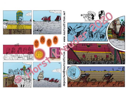 01.04.2020 Erste Runde beim Colorieren von Teil 4 geschaftt