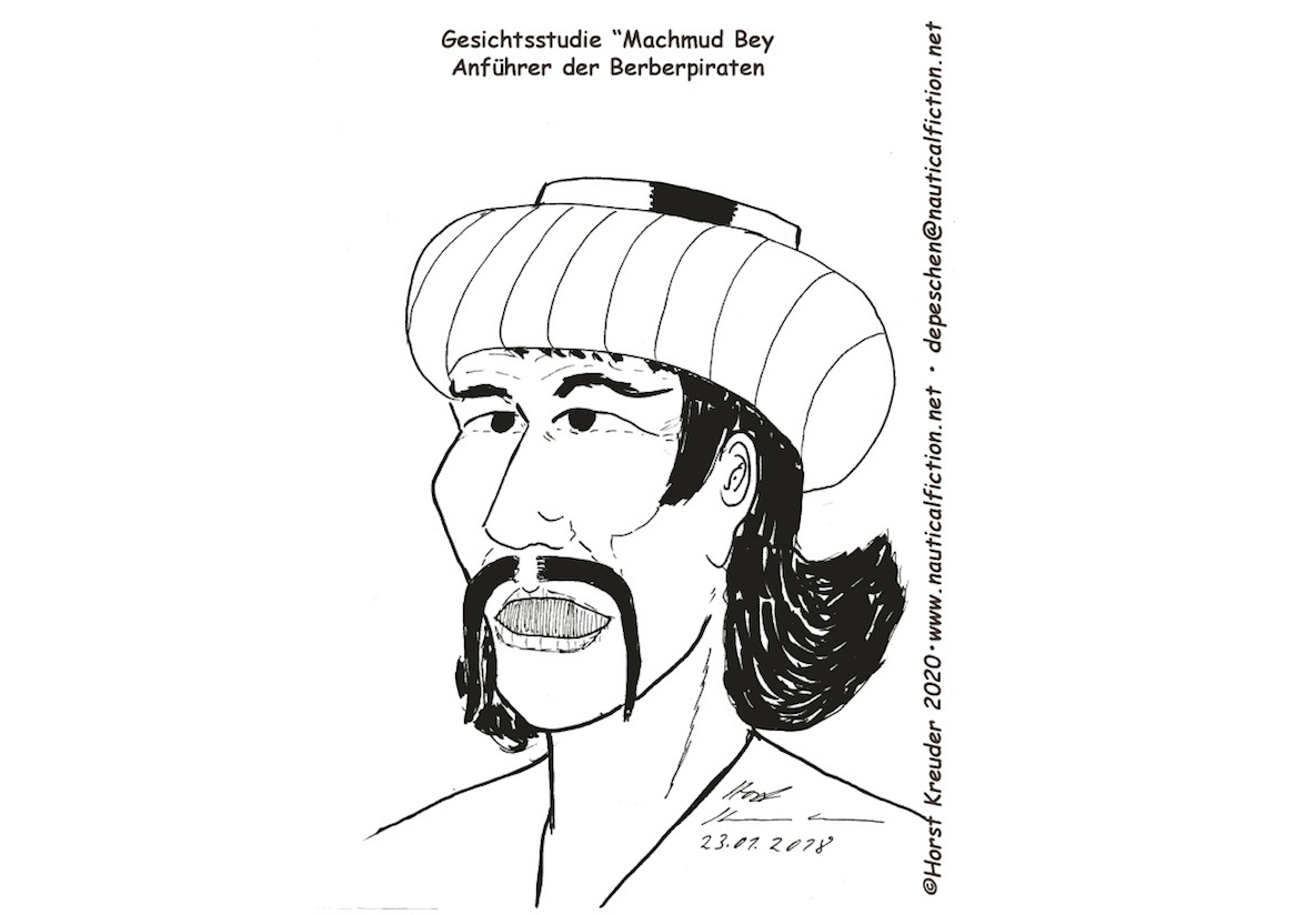 Gesichtsstudie Machmud Bey
