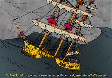 02.19.2021 Working on a new piece of maritime art for Quincey Howard