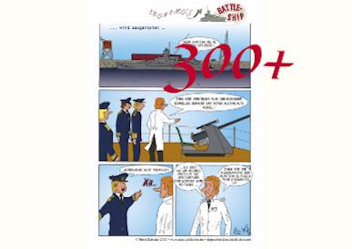 """13.09.2021 Mehr als 300 Aufrufe für die Deutsche Version von """"Battleship"""" Streich 1"""